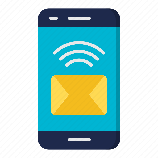 envelope, mail, message, mobile, news icon
