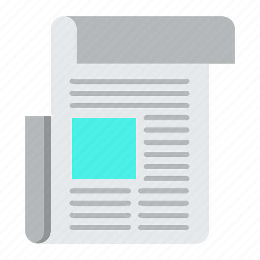 article, media, news, newspaper, paper icon