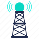 network, news, radio, signal, technology, wireless icon