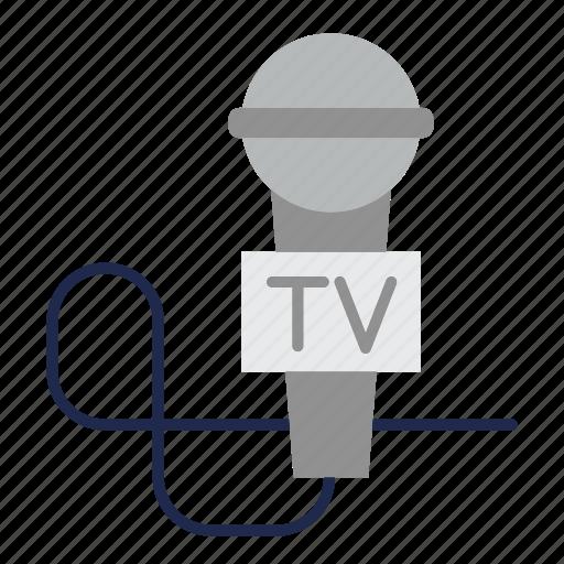 microphone, news, recording, sound, speaker, volume icon