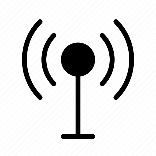 antenna, broadcast, news, newscast, television icon