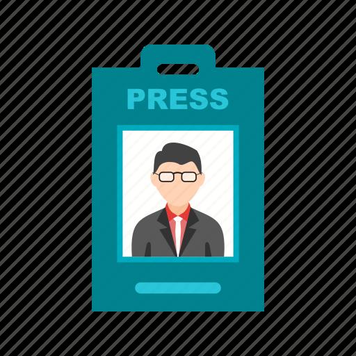 anchor, card, employee, id, male, media, profile icon