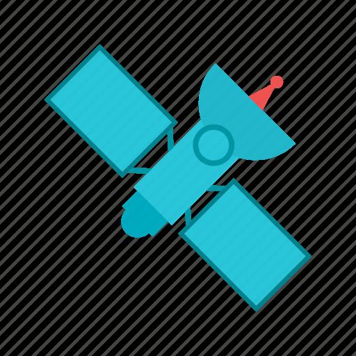antenna, broadcast, global, navigation, satellite, signal, technology icon