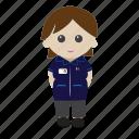 female, nhs, nurse, uniform icon