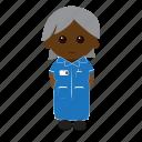 nurse, female, nhs, uniform