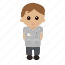 male, nhs, nurse, uniform icon