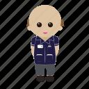 male, nhs, nurse, uniform icon