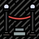 night, party, queue icon