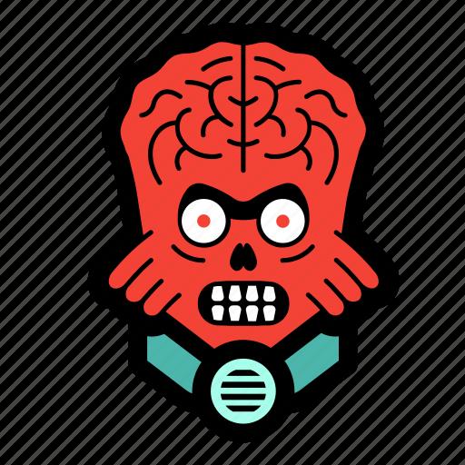 alien, creature, invader, martian, monster icon
