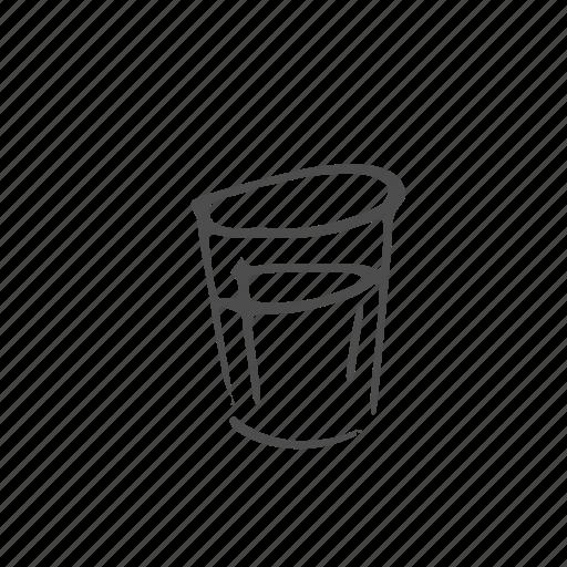 beverage, drink, glass, soda, tableware, utensil, water icon