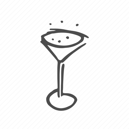 alcohol, beverage, cocktail, drink, martini, sparkling icon