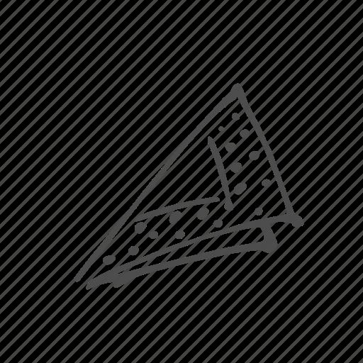 food, meal, napkin, paper, utensil icon