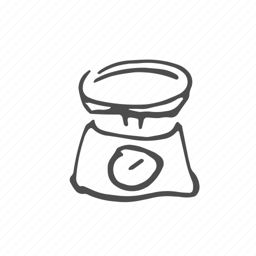 Cooking, food, kitchen, kitchenware, scales, utensil icon - Download on Iconfinder