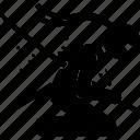death, kamikaze, ninja, suicide icon