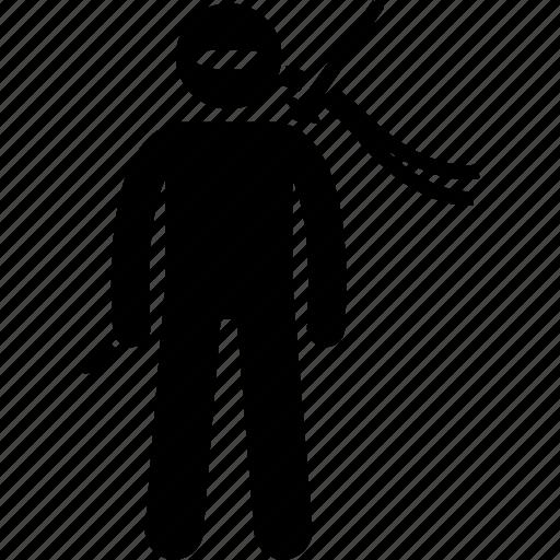 assassin, ninja icon