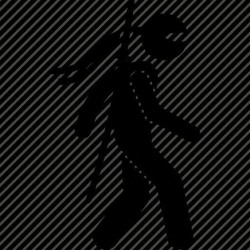 moving, ninja, walk, walking icon