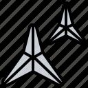 caltrop, makibishi, ninja, obstacle, spike