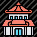 building, house, japan, ninja, traditional
