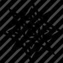blade, shuriken, star, symbol, weapon icon