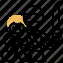 assassin, hostage, kill, mission, shinobi icon