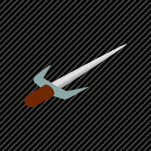 blade, isometric, japanese, ninja, sai, samurai, weapon icon