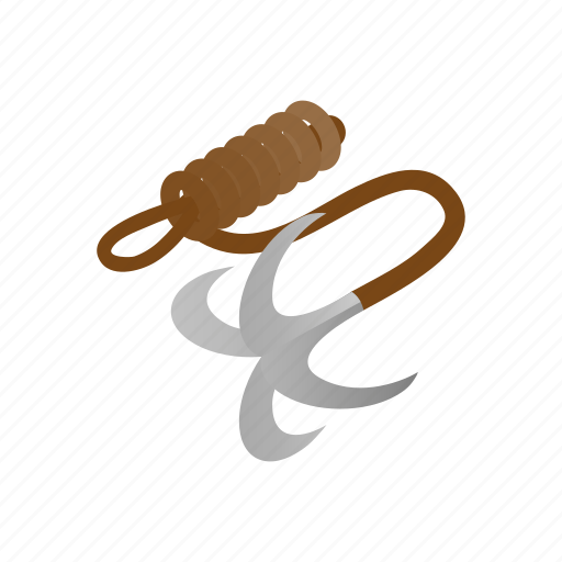 hook, isometric, karate, martial, ninja, rope, weapon icon