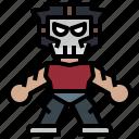 avatar, casey, hero, ninja, people, super, turtles icon