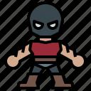 avatar, clan, foot, hero, ninja, people, super icon