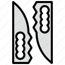 cultures, japanese, knife, ninja, oriental, turtles, warrior icon