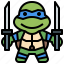 avatar, hero, leonado, ninja, people, super, turtles icon