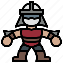 avatar, hero, ninja, people, shredder, super, turtles icon