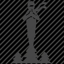 japanese, ninja, ninjutsu, peak, show, stand, tree icon