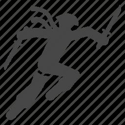 battle, fight, japan, japanese, ninja, ninjutsu, warrior icon