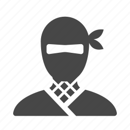 japan, japanese, ninja, ninjutsu, shinobi, spy, warrior icon