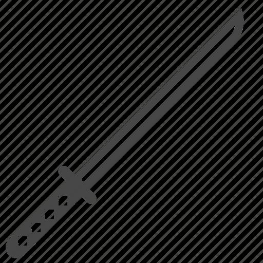 blade, japanese, katana, ninja, samurai, sword, weapon icon