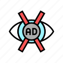 advertisement, no, vision, ads, free, advertise