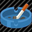 ashtray, smoking, cigarette, tobacco, smoke, nicotine, cigar
