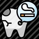 caries, tooth, healthcare, smoking, dental