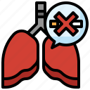 lungs, body, parts, organs, check, mark, healthy