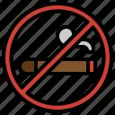 no, cigar, tobacco, addiction, prohibition, healthcare