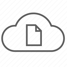 cloud, document, form, guardar, order, save, sheet icon