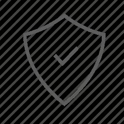 antivirus, defender, firewall, guard, protection, shield icon