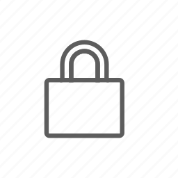 closed, lock, login, personal, protection, registration icon