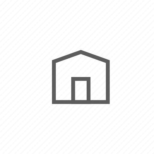garage, home, house, store, warehouse icon