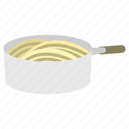 boiling, bowl, cooking, food, kitchen icon