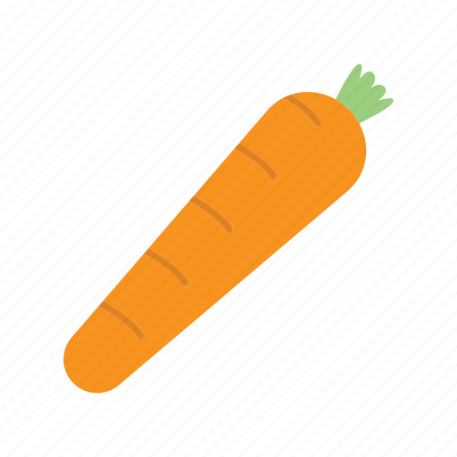 carrot, food, ingredient, nutrition, vegetable icon