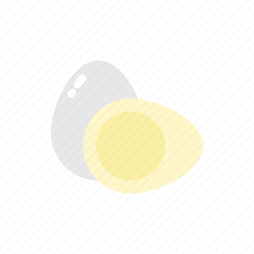 boiled, chicken, cooking, eggs, food, kitchen icon