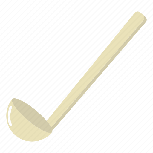 cooking, food, kitchenware, ladle, soup, tool icon