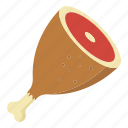 beef leg, chop, food, meat, steak, tenderloin, uncooked icon