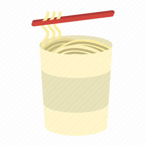 bowl, cuisine, fast, food, instant, meal, noodle cup, ramen, unhealthy icon